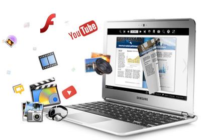 Media-rich digital catalog