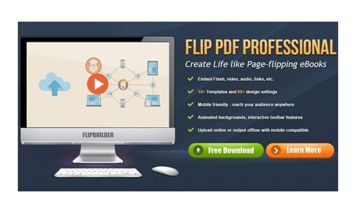 3 Powerful Page Flip Animation CSS3 Brochure To Be Accessed