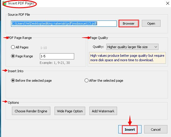 New Page 4 >> How To Insert New Page From External Pdf Document Pubhtml5 Help Center