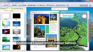 PDF to Page Flip Software Can Simulate Realistic Page Flipping